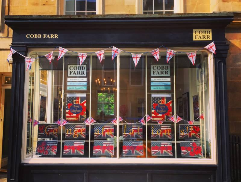 Royal Wedding fever hits Bath