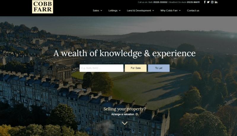 Cobb Farr's new website!
