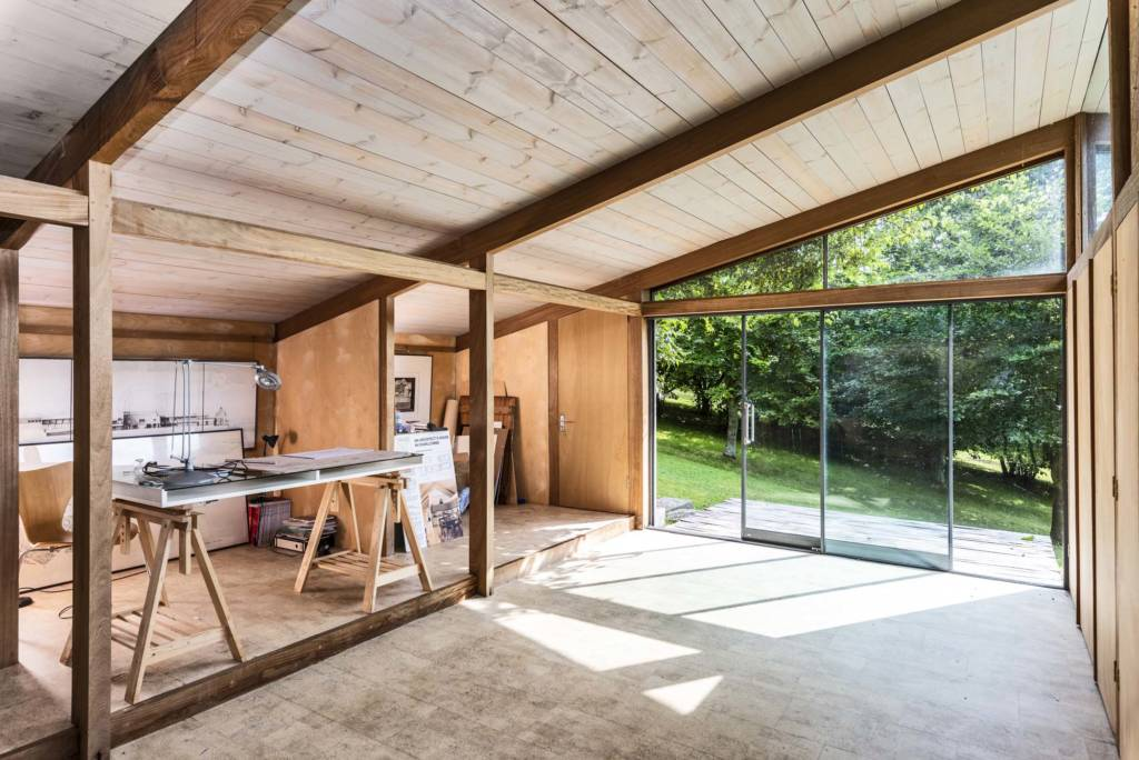 Open spaced home office