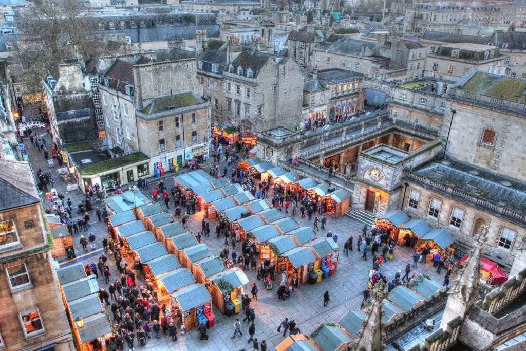 London vs Bath - Christmas Market